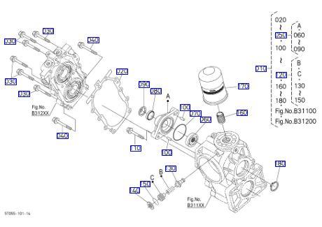 Lọc thủy lực DC70
