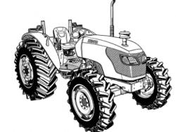 Kubota M9540