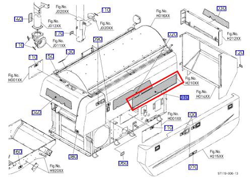 Tem kubota DC-70 Plus